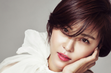 Korean Actress Ha Ji Won Elle Magazine January 2016 Photos