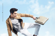 Kim Woo Bin Samsonite Red 2015 photos