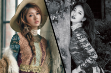 Jung So Min InStyle Magazine December 2015 Photos Miss A Suzy Elle September