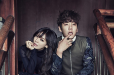 Kim So Yeon and Kwak Si Yang Cosmopolitan Magazine January 2016 photos