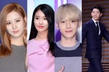 Seohyun, IU, Baekhyun, Lee Joon G