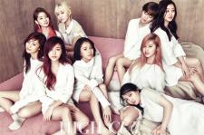 JYP Entertainment Twice High Cut Magazine 165 January 2016