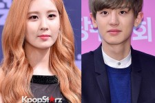 Seohyun and Chanyeol