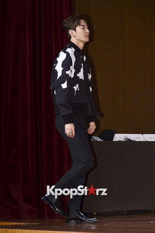 VIXX's Hong Bin Attends a Press Conference of Upcoming Movie 'Moorim School' key=>1 count28