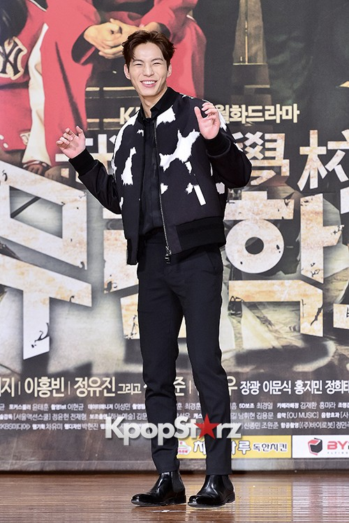 VIXX's Hong Bin Attends a Press Conference of Upcoming Movie 'Moorim School' key=>7 count28
