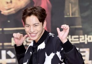 VIXX's Hong Bin Attends a Press Conference of Upcoming Movie 'Moorim School'