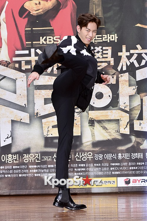 VIXX's Hong Bin Attends a Press Conference of Upcoming Movie 'Moorim School' key=>10 count28
