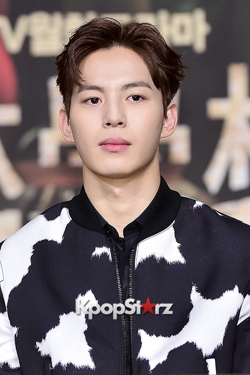 VIXX's Hong Bin Attends a Press Conference of Upcoming Movie 'Moorim School' key=>19 count28