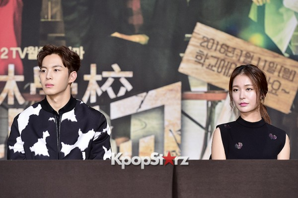 VIXX's Hong Bin Attends a Press Conference of Upcoming Movie 'Moorim School' key=>26 count28