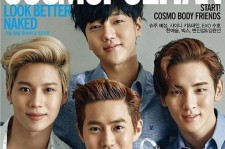 Members Of SM Entertainment's Top Boy Bands Come Together On The Cover Of Cosmopolitan