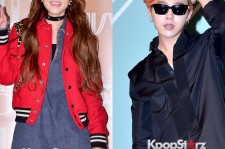 2NE1's Sandara and Big Bang's G-Dragon