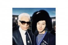 Big Bang G-Dragon and Chanel Karl Lagerfeld