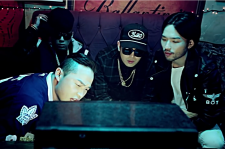 "music video for Bumkey's ""backindadayz""  featuring Sanchez of Phantom Dok2, dh-style and Microdot"