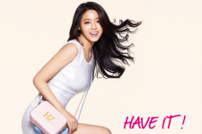 AOA Seolhyun HAZZYS 2015 Spring Summer Photos