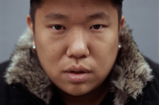 South Korean underground hip-hop artist Hwaji