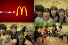 NU'EST Chosen to Become Models for Fast Food Company