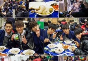 'School 2013' Choi Daniel Treats Staff with a Delicious Meal