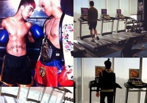 YG Artists Exercise Pictures Gains Attention Online