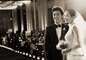 um tae woong wedding photos
