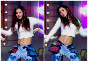 Girls' Generation (SNSD) Yuri, Abs That Motivate People To Exercise