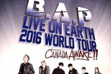B.A.P Canada Tour