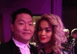 Psy Reveals Picture Taken with Singer Rita Ora