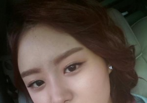 SECRET Song Ji Eun Reveals Pouty Self-Cam, 'Not my Day'