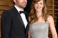 Actors Ben Affleck (L) and Jennifer Garner attend the 2014 Vanity Fair Oscar Party hosted by Graydon Carter on March 2, 2014 in West Hollywood, California. (