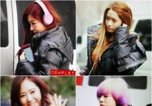 snsd on the way to work