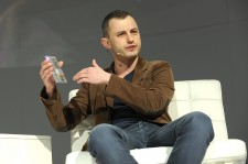 Technical Project Lead (Project Ara), Google ATAP, Paul Eremenko speak at Engadget Expand New York 2014 at Javits Center on November 7, 2014 in New York City.