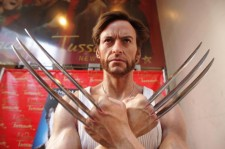 ugh Jackman's 'Wolverine' wax figure at Madame Tussauds on September 4, 2009 in New York City.