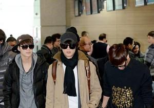 Airport Fashion: SHINee Leaving to Kuala Lumpur, Malaysia