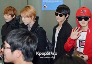 Airport Fashion: BTOB Leaving to Kuala Lumpur, Malaysia