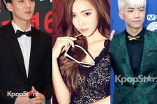 EXO's Sehun, Jessica Jung, and 2PM's Wooyoung