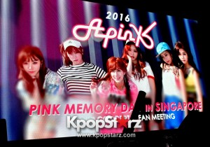APink Spends An Unforgetable Pink Memory Day With Fans In Singapore [PHOTOS]