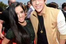 Recording Artists Becky G and Austin Mahone attend CW Network's 2013 Young Hollywood Awards presented by Crest 3D White and SodaStream held at The Broad Stage on August 1, 2013 in Santa Monica, California.