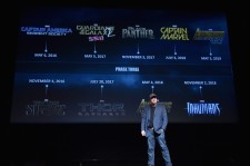 President of Marvel Studios Kevin Feige onstage during Marvel Studios fan event at The El Capitan Theatre on October 28, 2014 in Los Angeles, California