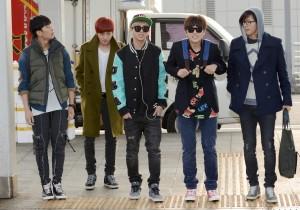 Airport Fashion: B1A4 Leaving to Kuala Lumpur, Malaysia