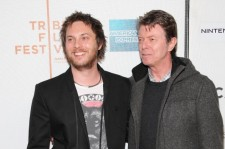 Director Duncan Jones and father David Bowie attend the premiere of 'Moon' during the 2009 Tribeca Film Festival at BMCC Tribeca Performing Arts Center on April 30, 2009 in New York City