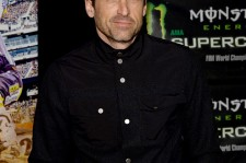 Actor Patrick Dempsey attends Monster Energy Supercross Celebrity Night at Angel Stadium of Anaheim on January 23, 2016 in Anaheim, California.