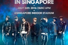 iKONCERT 2016 Showtime Tour In Singapore On 24 July 2016