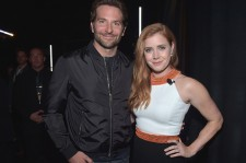 "Actor Bradley Cooper (L) and actress Amy Adams attend CinemaCon 2016 Warner Bros. Pictures Invites You to ""The Big Picture"", an Exclusive Presentation Highlighting the Summer of 2016 and Beyond at The Colosseum at Caesars Palace during CinemaCon, the offi"