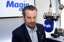 Matthew Perry poses for pictures at Magic Radio on April 1, 2015 in London, England. Perry is presenting Magic Radio shows on April 2nd and 9th.