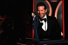 Actor Bradley Cooper speaks onstage during the launch of the Parker Institute for Cancer Immunotherapy, an unprecedented collaboration between the country's leading immunologists and cancer centers on April 13, 2016 in Los Angeles, California.