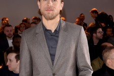 Charlie Hunnam attends the Calvin Klein Collection show during the Milan Menswear Fashion Week Fall Winter 2015/2016 on January 18, 2015 in Milan, Italy.