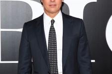 Actor Brad Pitt attends 'The Big Short' New York screening Ziegfeld Theater on November 23, 2015 in New York City.