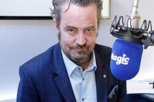 (EXCLUSIVE COVERAGE) Matthew Perry poses for pictures at Magic Radio on April 1, 2015 in London, England. Perry is presenting Magic Radio shows on April 2nd and 9th.