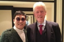 Psy Reveals Picture Taken with Former U.S. President Bill Clinton