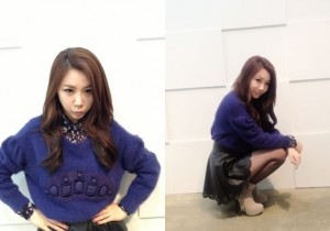 Brown Eyed Girls JeA Reveals Comical Picture Online