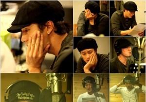 Actor So Ji Sup Recording for Mini Album, 'Passionate Rapper'